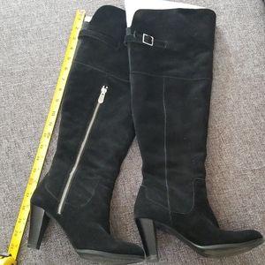 Adrienne Vittadini Suede Boot
